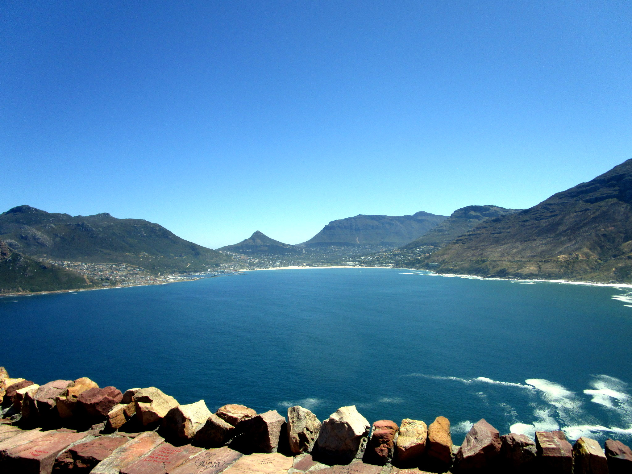 Hout Bay from Chapman's Peak