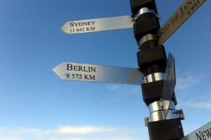 Cape Point Sign Distances