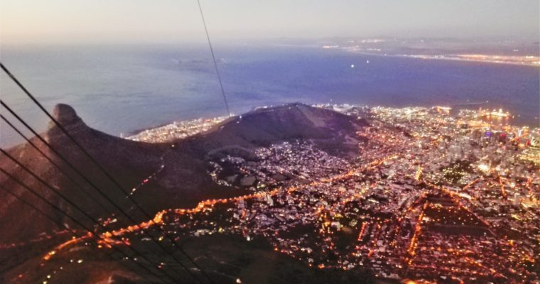 One night out in Cape Town