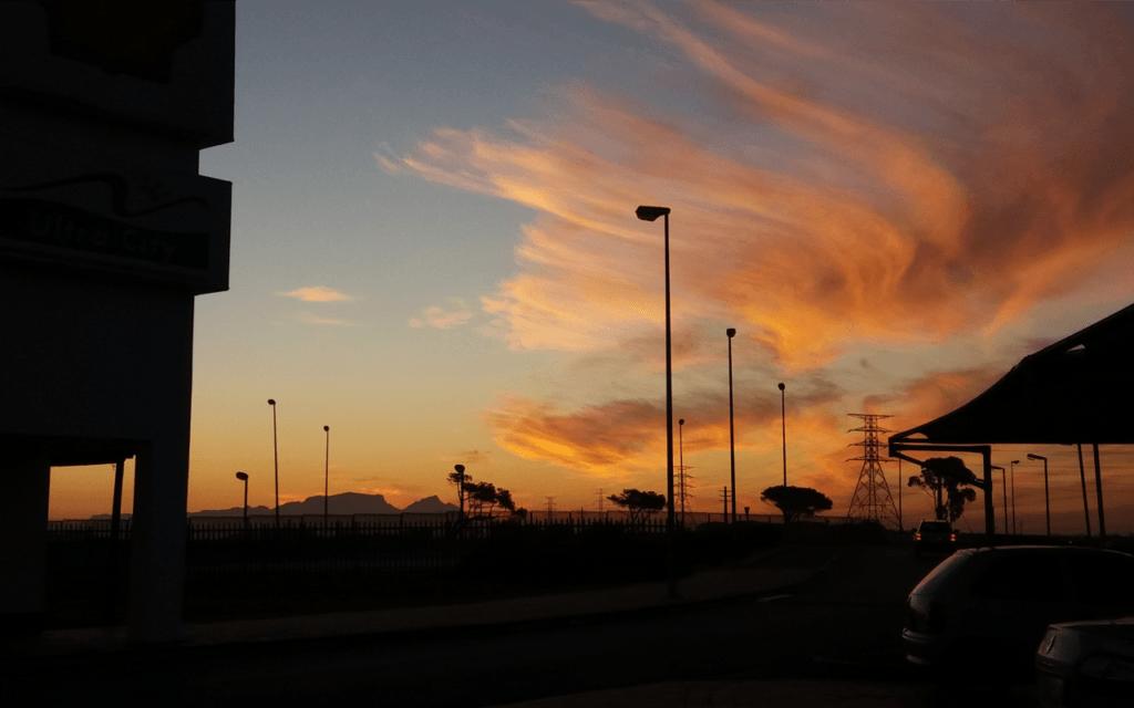Sonnenuntergang Südafrika