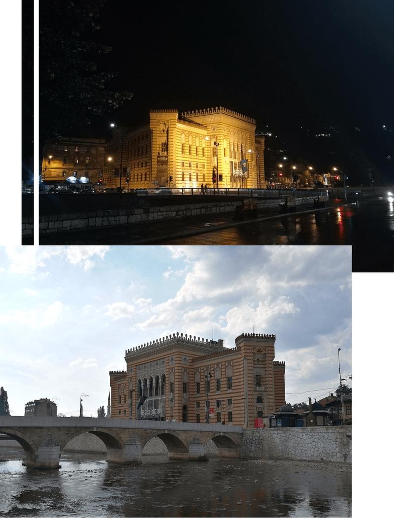Sarajevo Städtetrip Rathaus