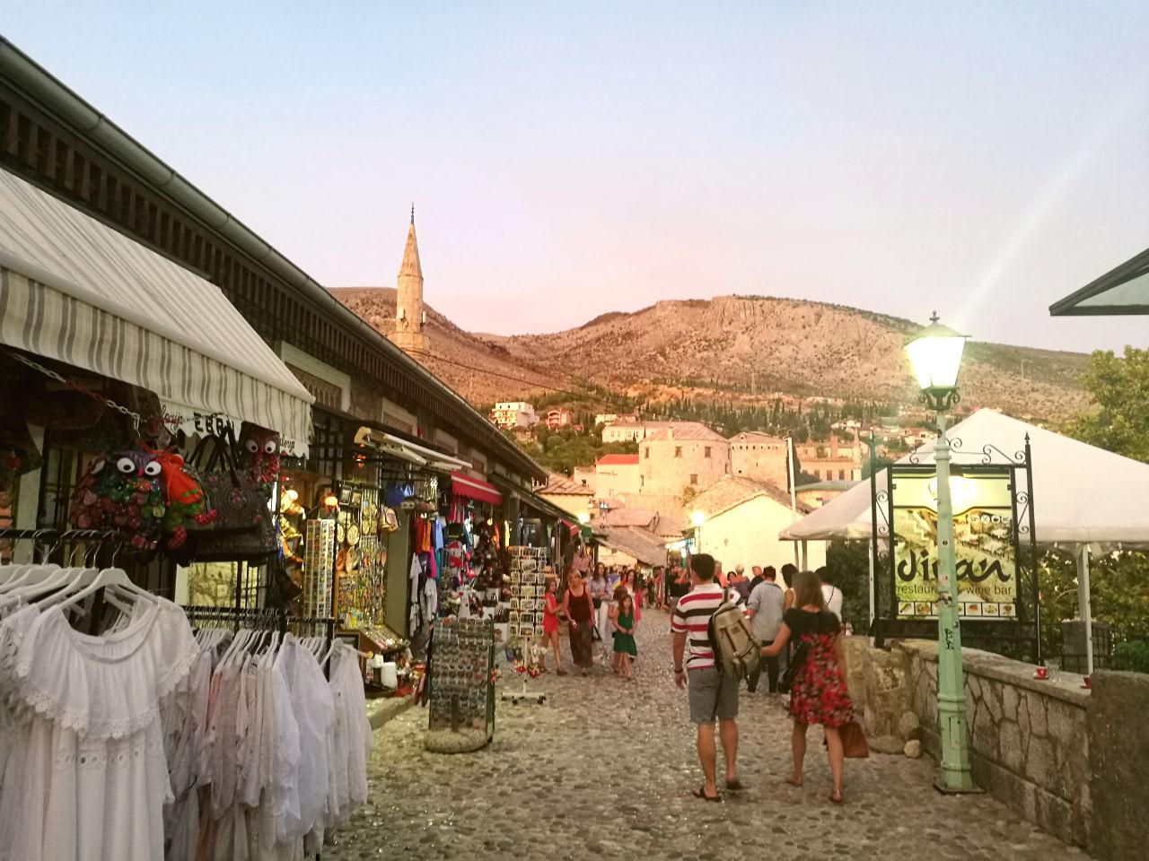 Mostar_Städtereise_Kurztrip_Abendstimmung