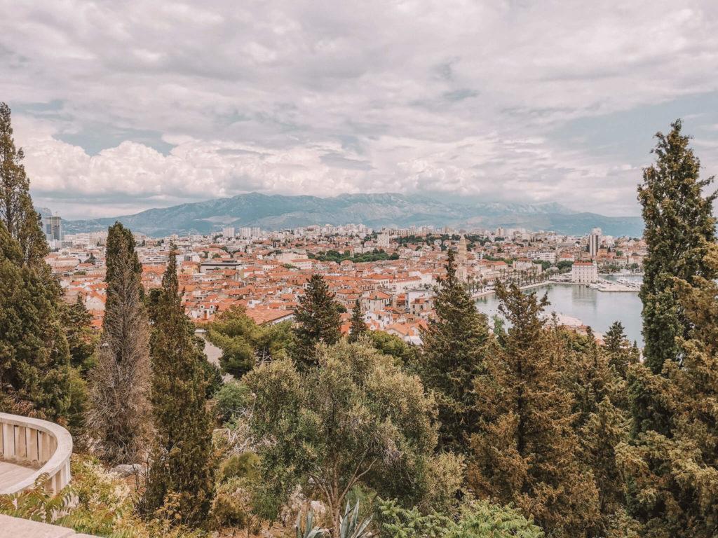 Ausblick auf Split von Marjan
