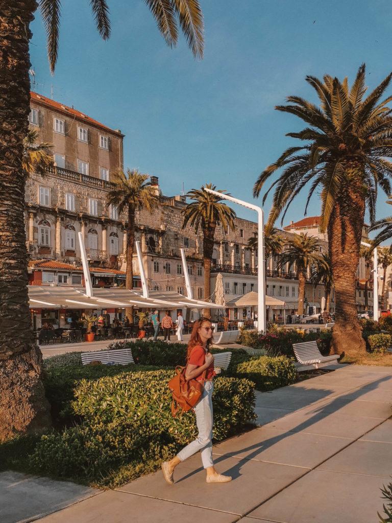 Promenade von Split